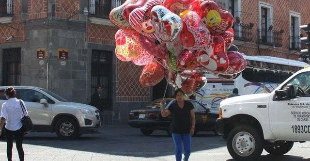 Esperan ventas por 19 mmdp en San Valentín - Globos San Valentín