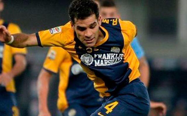 Verona y Rafa caen ante Palermo - Rafael Márquez, jugador del Hellas Verona
