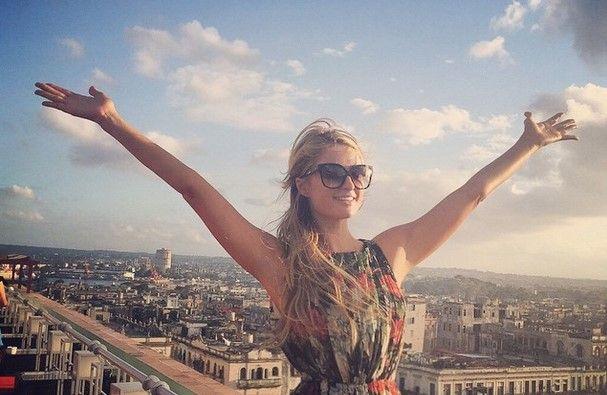 Paris Hilton y Naomi Campbell visitan Cuba - Paris Hilton en Cuba