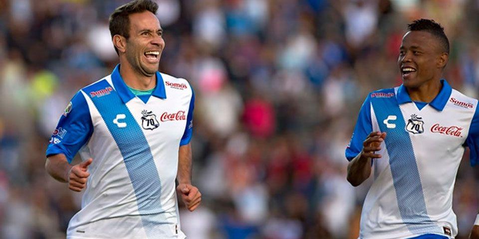 Puebla tumbó a Monterrey con dos golazos - Rey marcó un gol a lo Panenka ante Monterrey