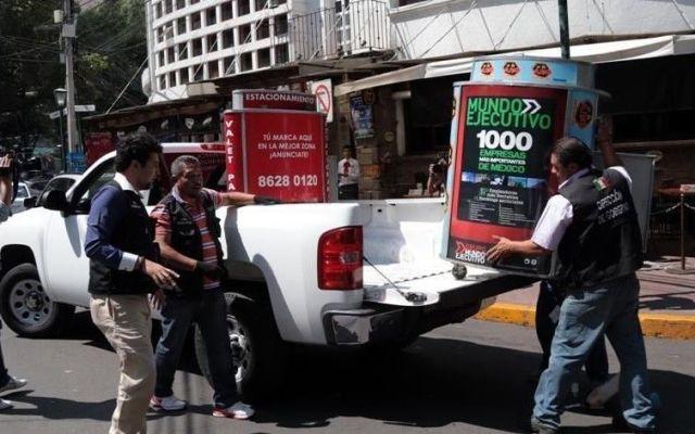 Retiran a franeleros y valet parking en MH - Retiran valet parking
