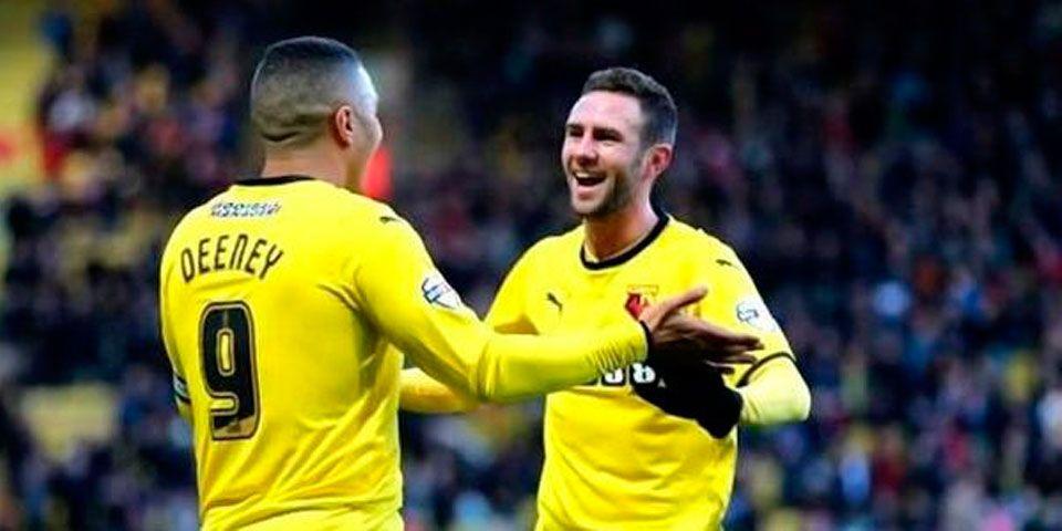 Watford venció a Bolton con gol de último minuto - Watford venció a Bolton con gol de último minuto