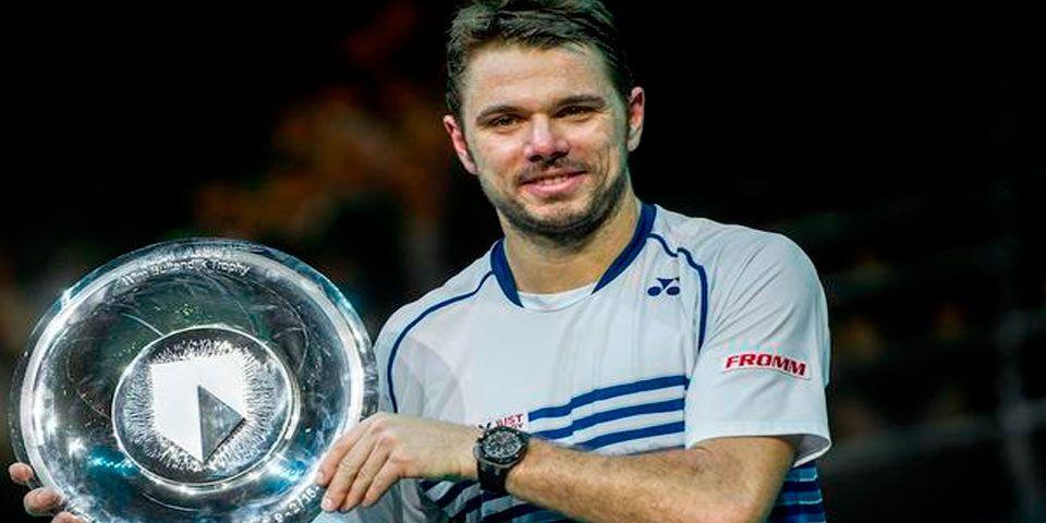 Stan Wawrinka gana título ATP de Rotterdam - Stan Wawrinka gana por primera vez título ATP de Rotterdam