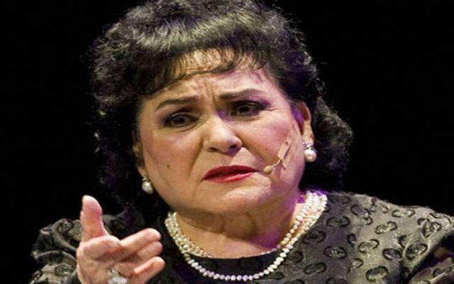 Carmen Salinas se pronuncia a favor del alza en las gasolinas - Carmen Salinas