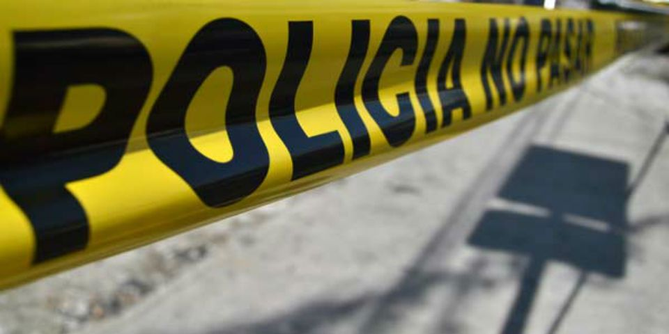Comando asesina a 7 personas en Guerrero - Cinta amarilla