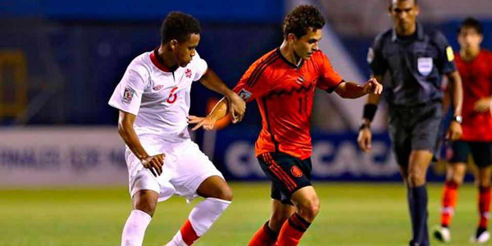 México sub-17 empató con Canadá en Torneo de Concacaf - México sub-17 empató con Canadá en Torneo de Concacaf