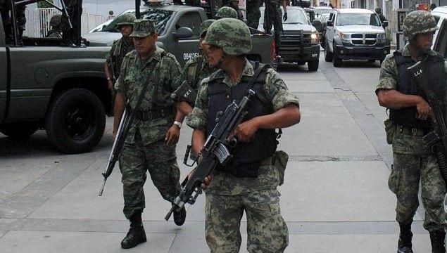 Garantizan seguridad de Convención Bancaria y Tianguis Turístico - militares