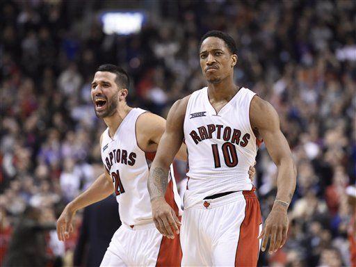 DeRozan anota 42 puntos en triunfo de Raptors - DeRozan anota 42 puntos en triunfo de Raptors
