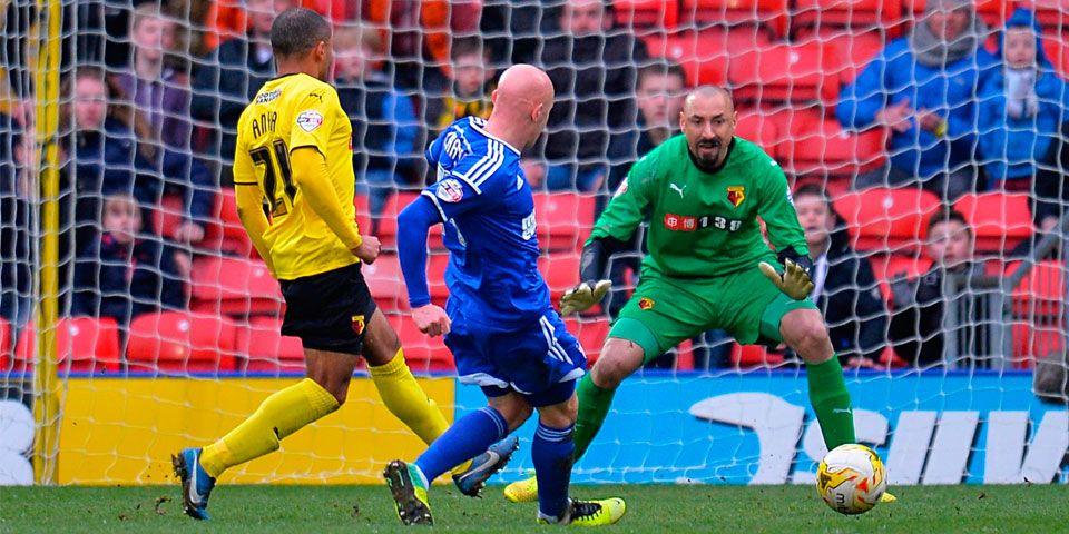 Watford cae con gol de último minuto - Watford cae con gol de último minuto