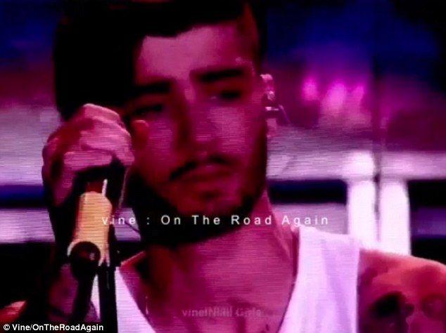 Zayn Malik llora en último concierto con One Direction - Foto de Daily Mail