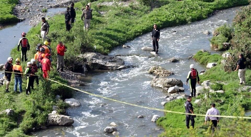 Encuentran cuerpo de menor en río de NL - ahogado