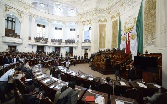 Gana Morena en la ALDF - asamblea