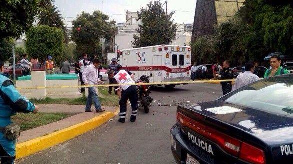 Muere policía atropellado en Polanco - Esquina de Horacio con Moliere