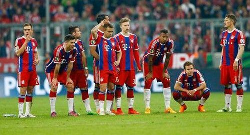Bayern dice adiós al triplete - Adiós al triplete
