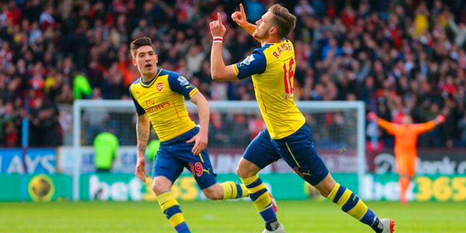 Arsenal vence al Burnley y se acerca al Chelsea - Arsenal vence al Burnley y se acerca al Chelsea