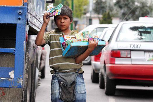 Más de 900 mil niños trabajan en México - trabajo infantil