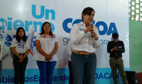 Nunca he pactado con La Tuta: Cocoa Calderón - Luisa María Calderón