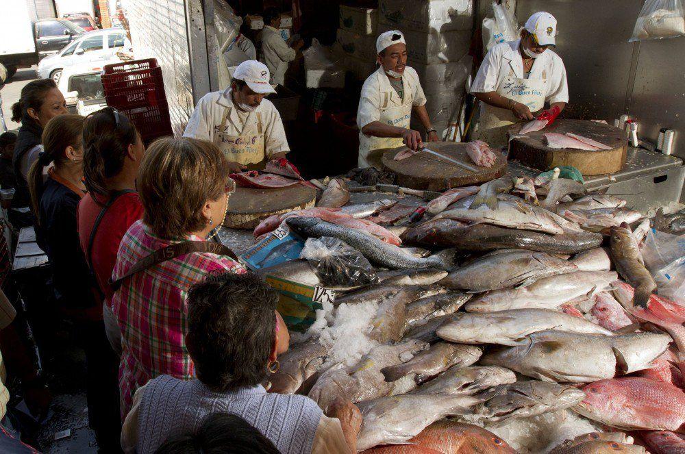 Mexicanos comen 9.40 kilos de pescados y mariscos al año - pescados