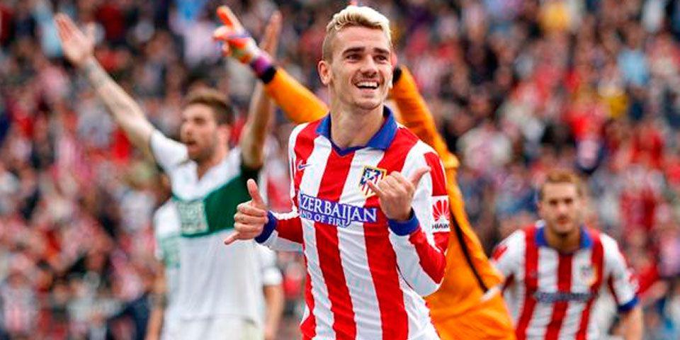 Griezmann vuelve a brillar en victoria del Atlético - Griezmann vuelve a brillar en victoria del Atlético