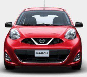 Los 10 coches más vendidos en México - Nissan March