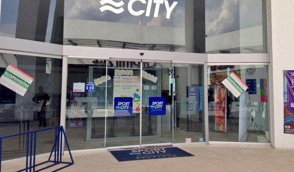 Profeco coloca sellos de suspensión en Sport City - Sport City de Saltillo