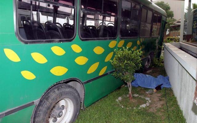 Accidente entre camiones de pasajeros deja dos muertos en NL - Foto: Carlos Arenas