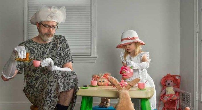 """Divertidas imágenes entre """"el mejor padre del mundo"""" y su hija - Foto de World's Best Father/FB"""
