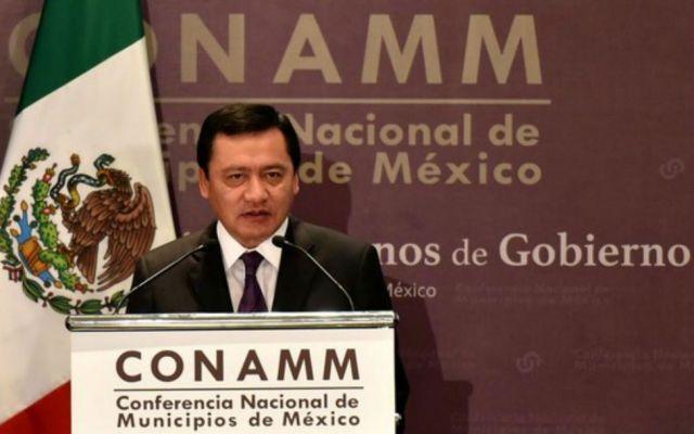 México no está en llamas: Osorio Chong - Osorio Chong señaló que solo 20 candidatos han pedido seguridad específica. Foto de @Ricdelvalle