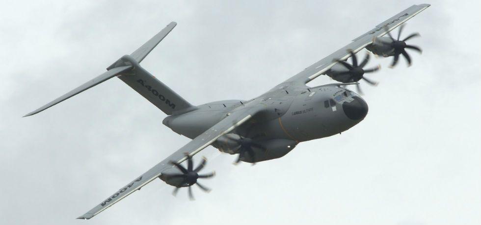 Se desploma avión militar en Sevilla - Airbus A400M, avión militar