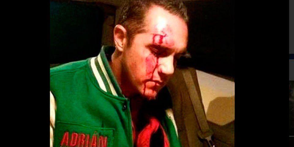 Rubalcava es dado de alta tras agresión - Adrián Rubalcava