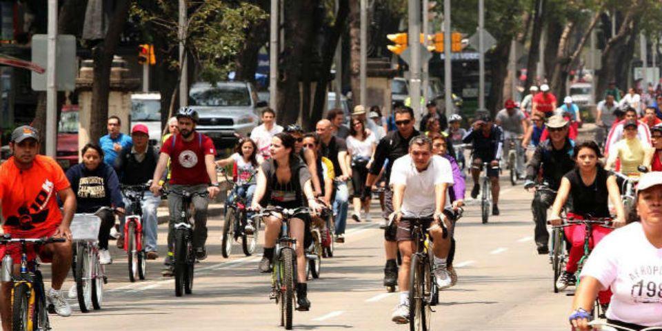 Nuevas reglas para los ciclistas del D.F. - Foto de El Semanario.