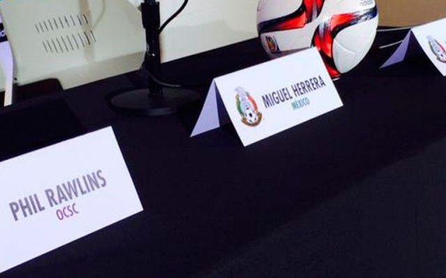 México está obligado a ganar Copa de Oro: Miguel Herrera - México está obligado a ganar Copa de Oro: Miguel Herrera