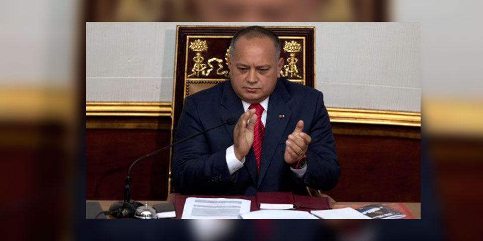 Diosdado Cabello es investigado por Estados Unidos