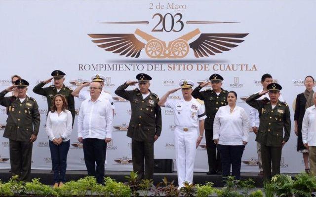 Solidaridad a familias de militares caídos en Jalisco: SEDENA - Rompimiento del Sitio de Cuautla