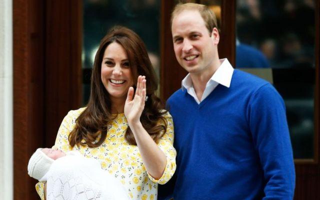 La bebé real británica se llamará Charlotte Elizabeth Diana - principes