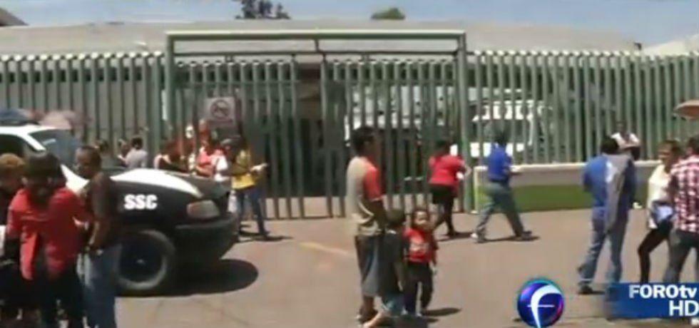 Desalojan hospital de Ecatepec por fuga de gas -  Hospital General Dr. José María Rodríguez