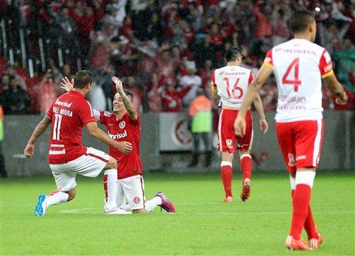 Internacional de Porto Alegre rival de Tigres en semifinales - Foto de AP