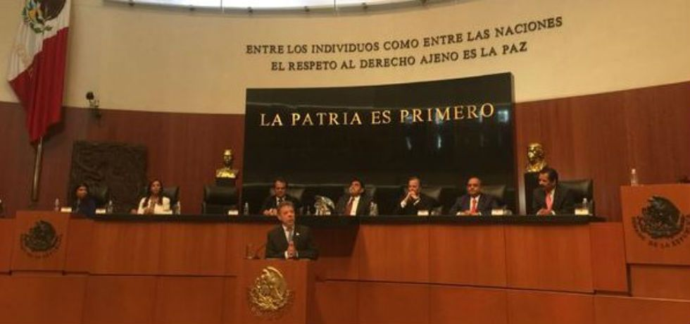 La paz de Colombia será la paz de México: Juan Manuel Santos - Juan Manuel Santos, presidente de Colombia
