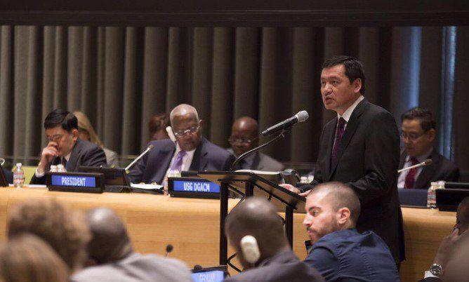 Propone Osorio Chong debatir sobre drogas en México - Osorio Chong en la ONU