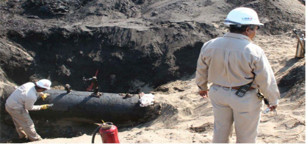 Pemex reporta derrame de hidrocarburo en Tabasco - Foto de Ultra