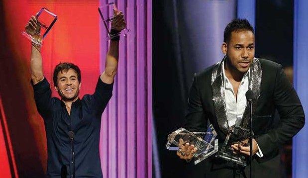 Romeo Santos y Enrique Iglesias máximos ganadores en los Billboard latinos - Romeo Santos y Enrique Iglesias máximos ganadores en los Billboard latinos
