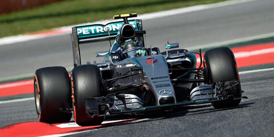 Rosberg se queda con la pole en España - Rosberg se queda con la pole en España