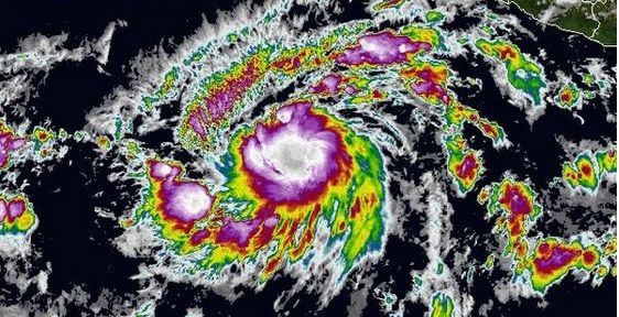 Se forma la primera tormenta tropical en el Pacífico