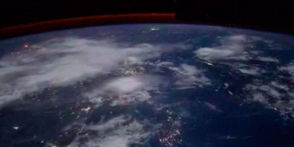 Video: así se ven las tormentas eléctricas desde el espacio - Foto de Vine