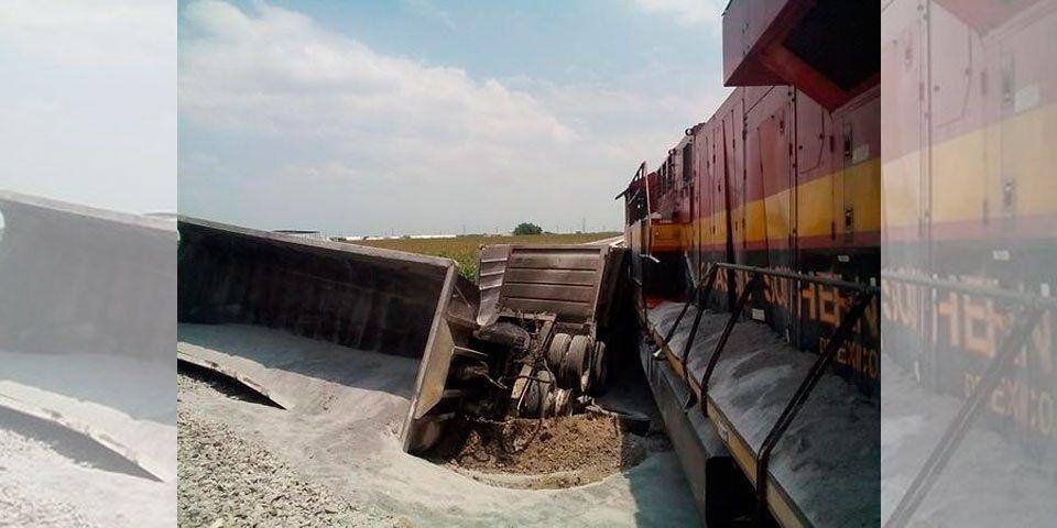 Descarrila tren en Tamaulipas - Se descarrila tren en Tamaulipas