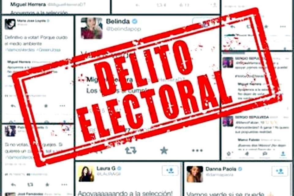Tuits a favor del PVEM fueron parte de una campaña: INE