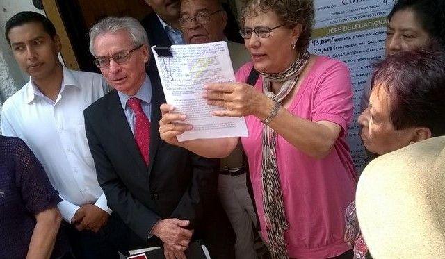 Morena impugna elección en Coyoacán - Foto de @BerthaLujanU