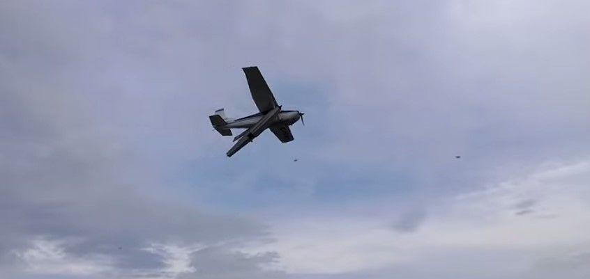 Desaparece avión tipo Cessna en Toluca - Foto de YouTube