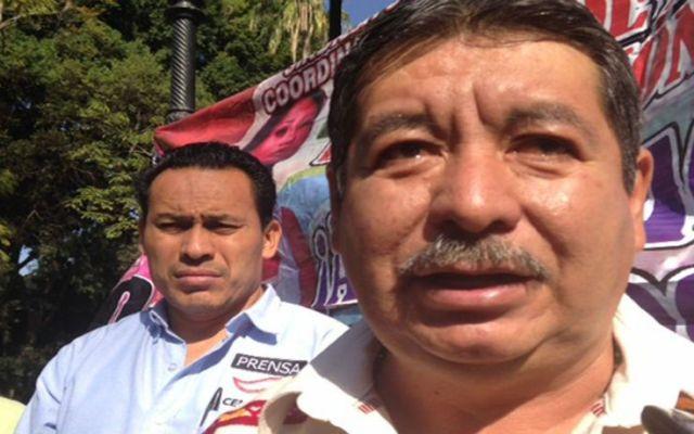 La CNTE engañó a maestros para boicotear la evaluación - Rubén Núñez, líder de la CNTE, dijo que no le pagan por dar clases, sino por hacer política. Foto de Archivo