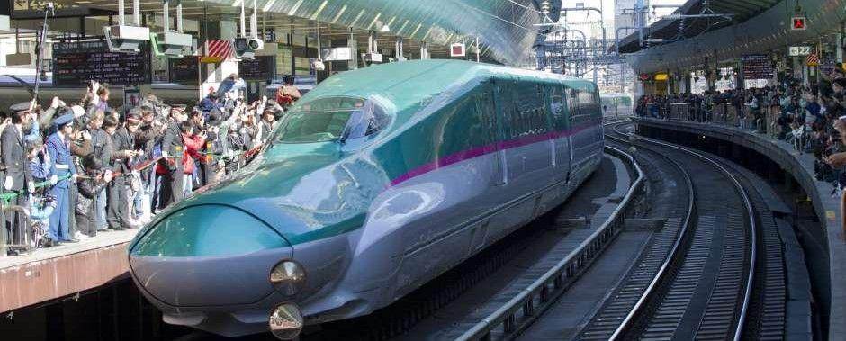 Video: en solo 7 minutos, limpian un tren bala en Japón - Foto de Internet